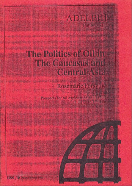 THE POLITICS OF OIL IN THE CAUCASUS AND CENTRAL ASIA