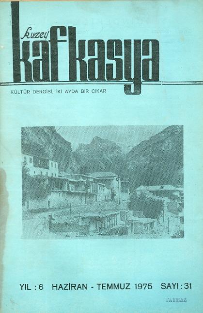 Kuzey Kafkasya Sayı-31